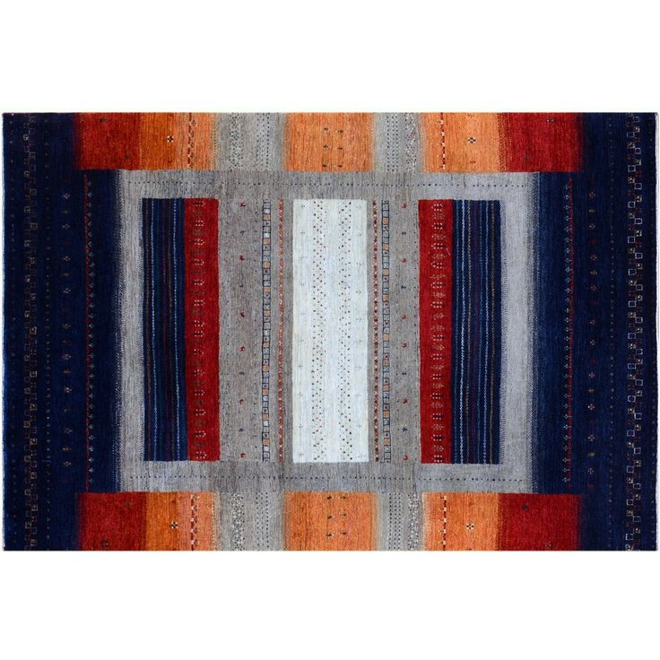 Sunset Colors Inspired Gabbeh Rug
