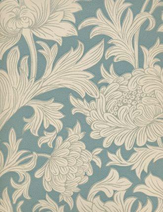 William Morris Chrysanthemum Toile More