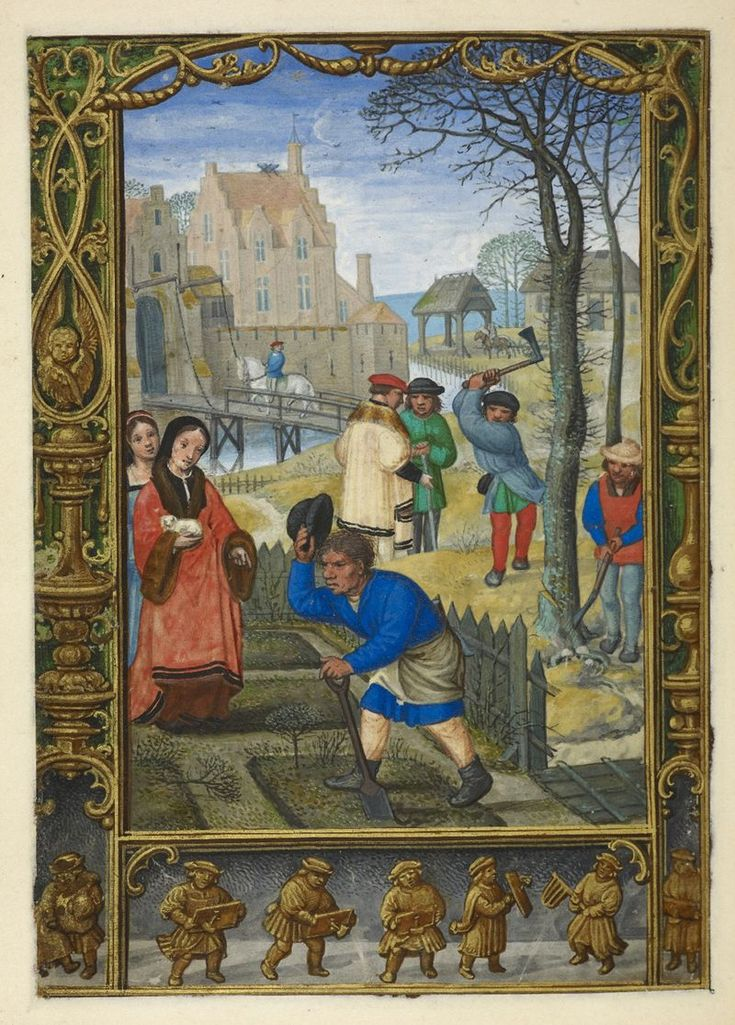 From the Medieval & Earlier  Manuscripts blog post 'A Calendar Page for March 2013'