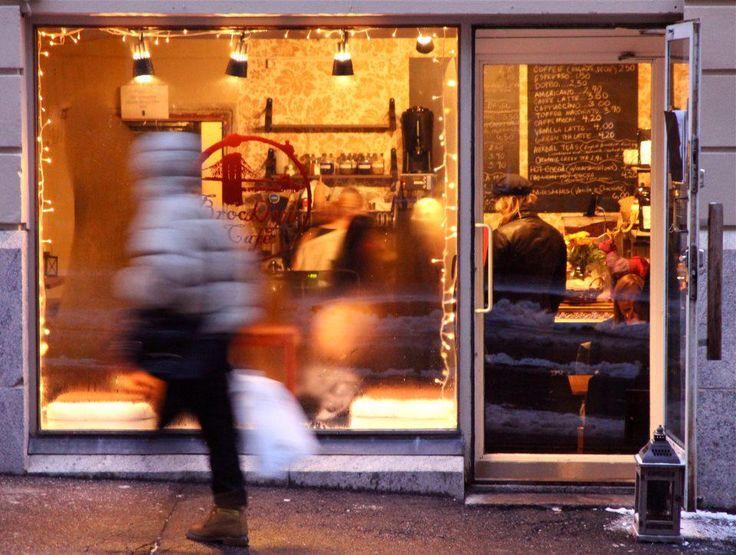 Brooklyn Cafe in Helsinki - Winter Warmth