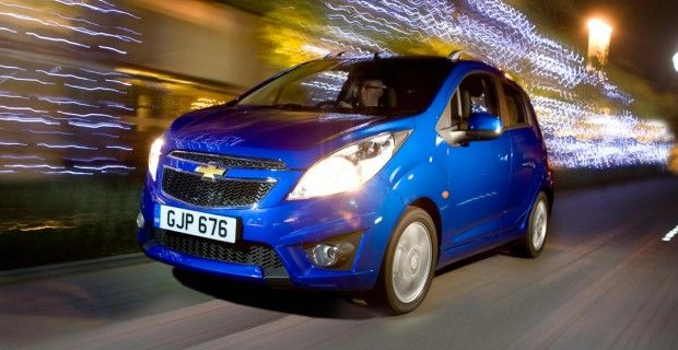 Chevrolet Spark: Britain's fastest car?