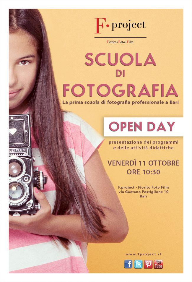 #Scuola di #Fotografia #Professionale a #Bari #Open #Day #Ottobre #2013 #iscrizioni