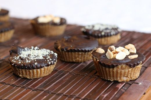 Homemade Reeses.. 20 min total time... Um yeah so doing this