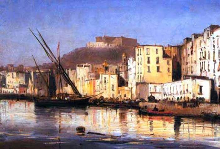 Giacinto Gigante Napoli, la Marinella