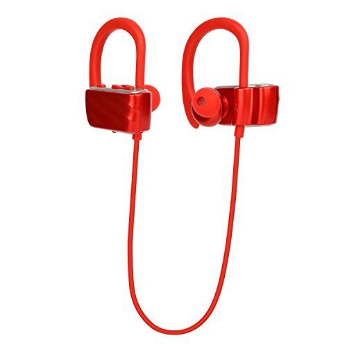 Special Offers - Vostronics Bluetooth Headset Wireless Sweatproof Headphones Sport Earphones 8.5h Play Time Earbud With Mic For Stereo Music  Red Review - In stock & Free Shipping. You can save more money! Check It (January 07 2017 at 03:29PM) >> http://wheadphoneusa.net/vostronics-bluetooth-headset-wireless-sweatproof-headphones-sport-earphones-8-5h-play-time-earbud-with-mic-for-stereo-music-red-review/