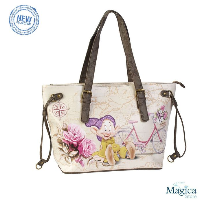 Womans Fashion Tote Shopper bag *7 Dwarfs-Snow White-Dopey* New   Authentic* #Karactermania #TotesShoppers