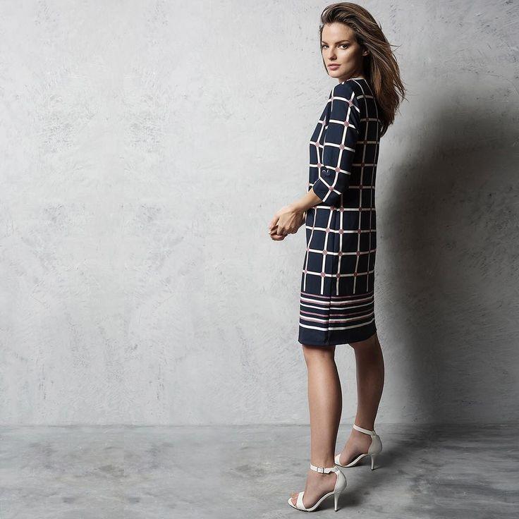 Bestseller 🌷 The Pala D'oro square print tunic dress. #LoveCarraigDonn