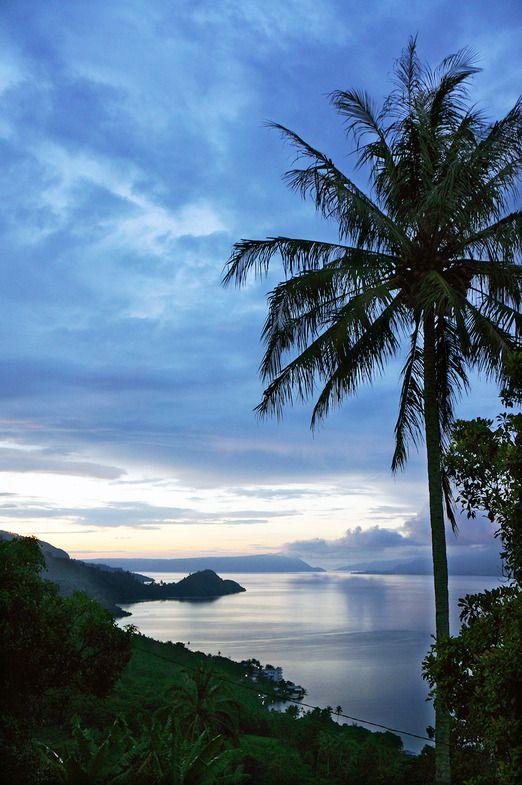 Amazing view of Lake Toba from Tigaras, Simalungun regency. Photo by Keshie Hernitaningtyas.