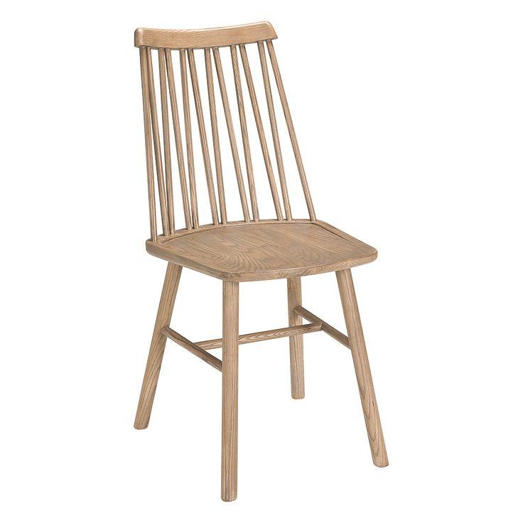 ZigZag stol ask grå