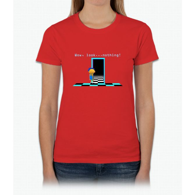 DHMIS - Nothing Don't Hug Me I'm Scared 4 Womens T-Shirt