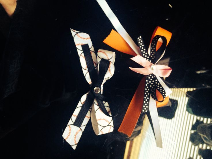 Bows my friend made.