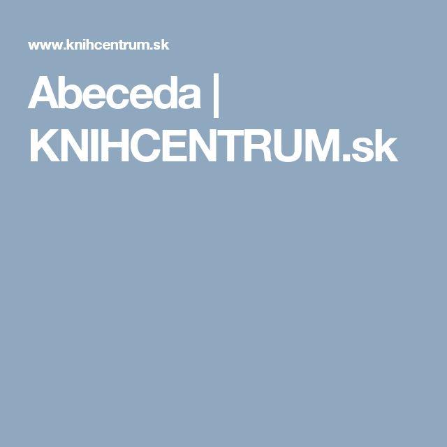 Abeceda | KNIHCENTRUM.sk