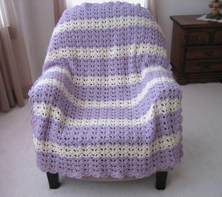 441 Best Blankets Afghans Images On Pinterest Blankets Knit
