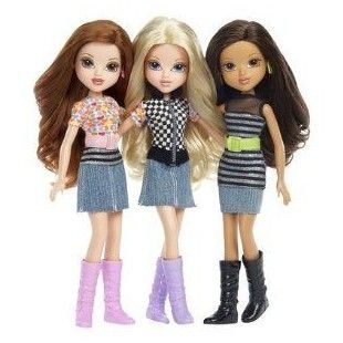 Moxie Girlz - 3 Pack Doll Set - Avery, Sophina & Ida