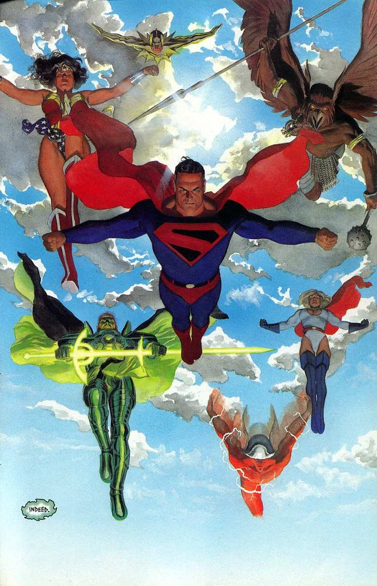 #Kingdom #Come #Fan #Art. (Kingdom Come) By: Alex Ross. (THE * 5 * STÅR * ÅWARD * OF: * AW YEAH, IT'S MAJOR ÅWESOMENESS!!!™)[THANK Ü 4 PINNING!!!<·><]<©>ÅÅÅ+(OB4E)