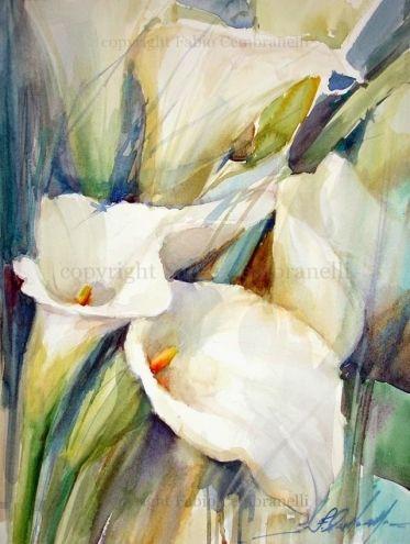chrome hearts eyeglasses knight glodokshop online situs dewasa Copos de Leite  watercolor painting by my favorite flower painter Fabio Cembranelli