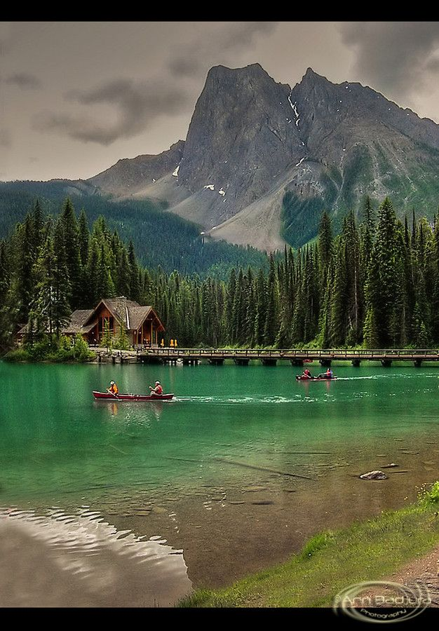 Emerald Lake in Yoho National Park, British Columbia, Canada (photo by Ann Badjura on 500px)