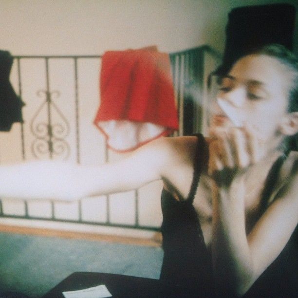 "James King by Nan Goldin.  ""In the process of photographing, I feel no distance, I feel like I'm touching somebody."""