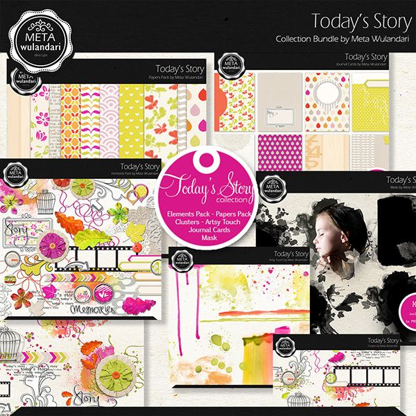 Today Story Collection :: Collections :: Memory Scraps