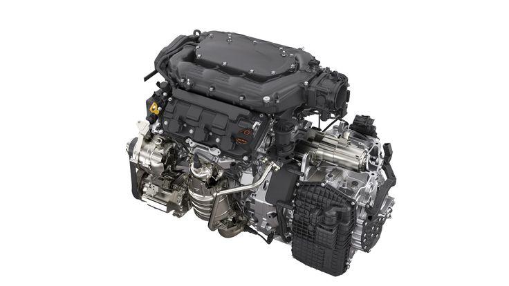 2015-16 TLX V6 Engine