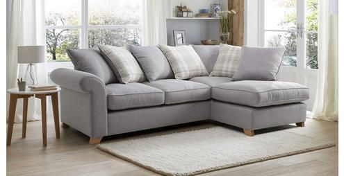 Rupert Right Arm Facing Pillow Back Corner Sofa Rupert | DFS