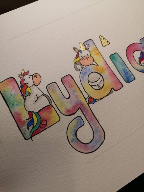 Pin By Zalika Make Up Artist On Unicorn Fleur Name Drawings Name Paintings Doodle Art Journals