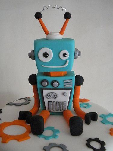 Torta Robot | Pastelera Bakery Shop | Flickr