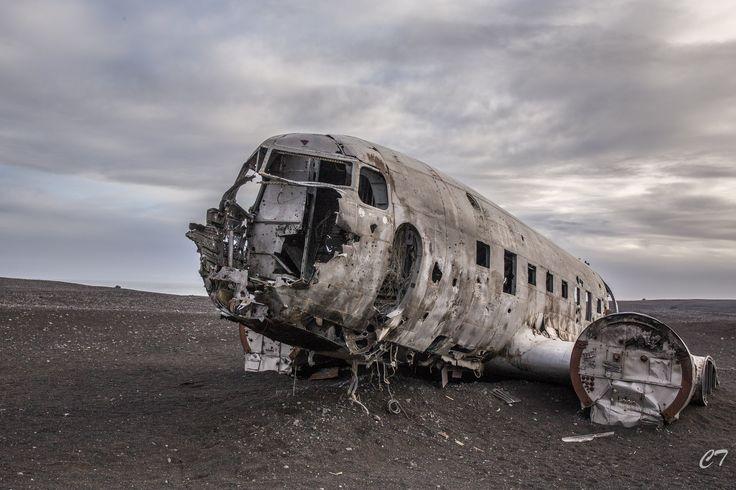 DC-3 Plane wreck, Vik, Iceland