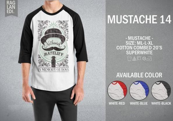 Raglan Mustache 14
