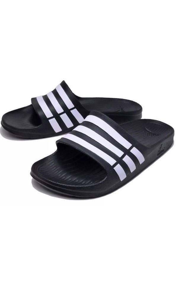 best service 9662d d78a8 ADIDAS BlackWhite DURAMO SLIDES ATHLETIC SANDALS SPORT MENS 11 46 G15890  NEW fashion clothing shoes accessories mensshoes sandals (ebay link)