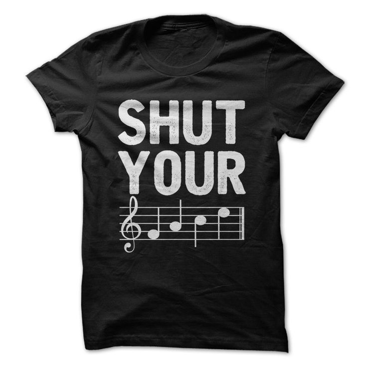 """Shut Your FACE! For those gifted in music, everyone knows that the notes in the spaces of a treble clef spell out """"face"""". It's a great way for music students to start remembering the basics!"""