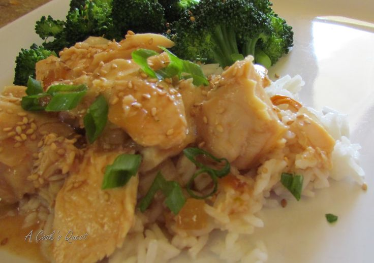 so easy  I can't wait to start really using my crockpot again!  A Cook's Quest: Slow Cooker Honey Sesame Chicken