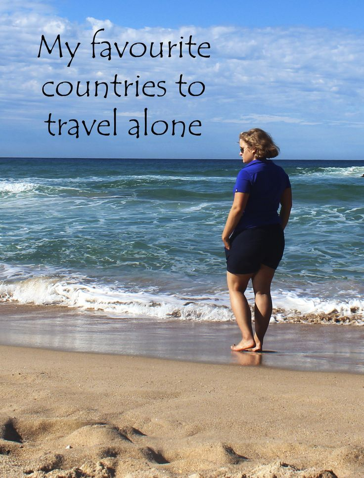 These countries are awesome for travelling alone - check them out! http://aworldofbackpacking.com/my-favourite-countries-to-travel-alone/