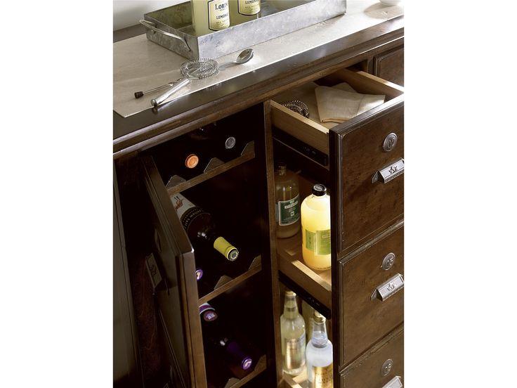 Stylish Storage Universal Furniture | River House | Michael's Bar