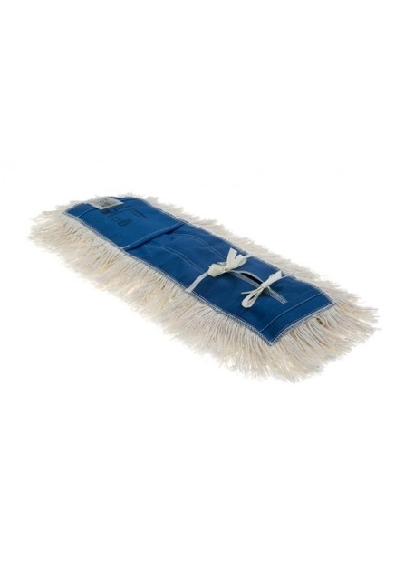 "Coton dust mop, tie-on and cut-end: Coton industrial dust mop, tie-on, cut-end 3-1/2"", treated"