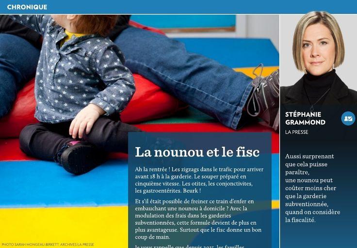 La nounou et le fisc - La Presse+