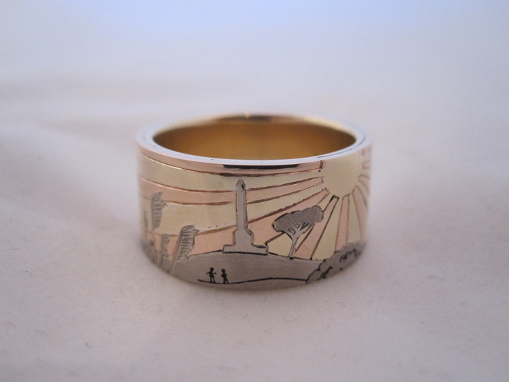 One tree hill  wedding ring by seventysixdesign