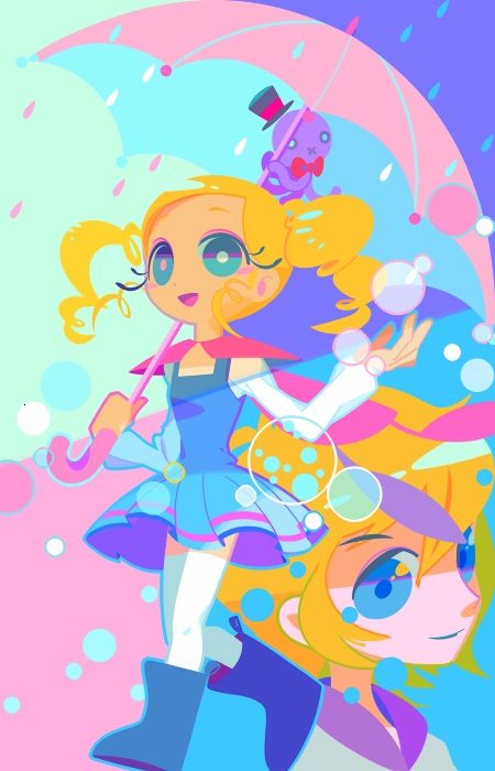 Tags: Anime, Fanart, deviantART, Power Puff Girls, Bubbles (ppg)