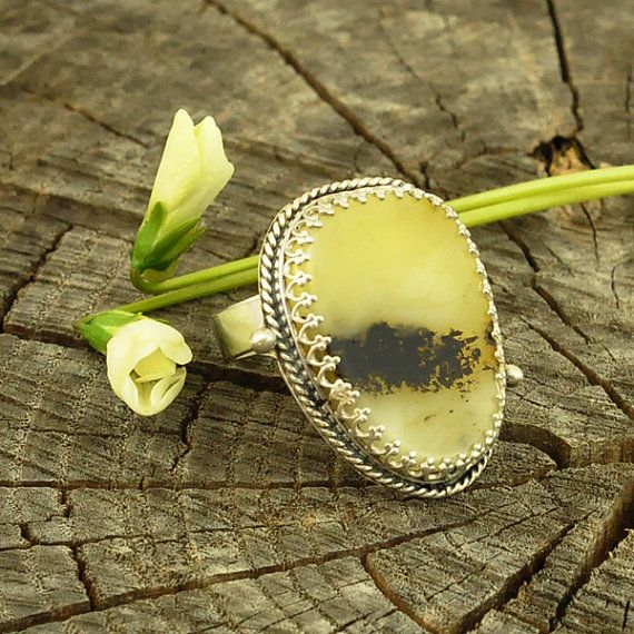 Baltic Amber sterling silver metalwork aristic RING by Ankanate