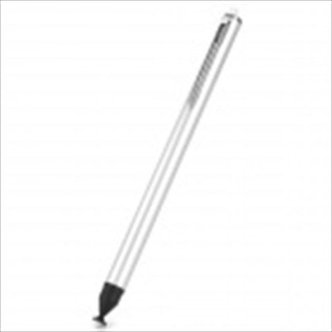 Stylish Capacitive Touch Screen Stylus Pen for Smart Phones - Silver