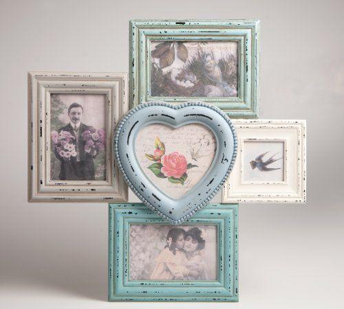 Distressed Multi Photo Frame | Blue + Cream Maia Gifts http://www.amazon.co.uk/dp/B00ID8127Q/ref=cm_sw_r_pi_dp_hAtOub1T6VT4H