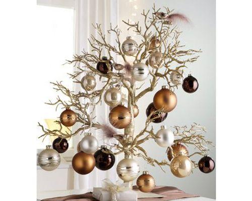 Arvores de Natal diferentes: