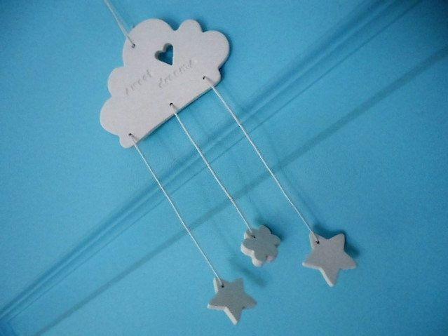 Clay Cloud Sweet Dreams by MYMIMISTAR on Etsy