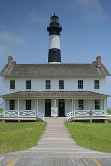 Bodie Island Light Station, Nags Head  http://en.wikipedia.org/wiki/List_of_Registered_Historic_Places_in_North_Carolina