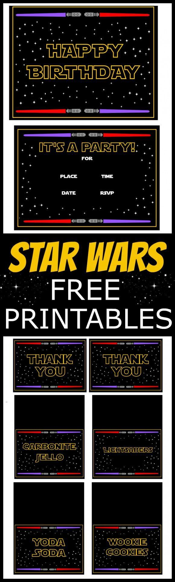 25 best ideas about Star wars invitations – Star Wars Party Invitations Printable