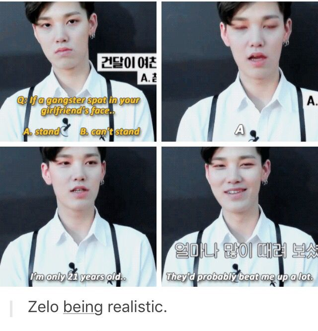 Protect this child omg. (Zelo youve literally just turned 19) smart watches - http://amzn.to/2ifqI9j