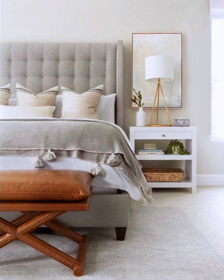 Spring Inspired Customer Photos In 2020 Upholstered Bed Decor Upholstered Beds Guest Bedroom Design