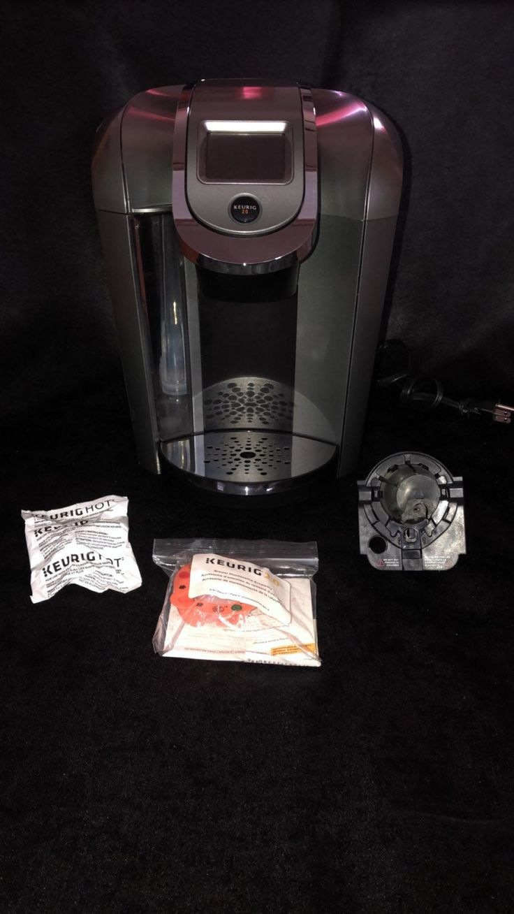 Keurig 2.0 .. very clean .. comes with one new water