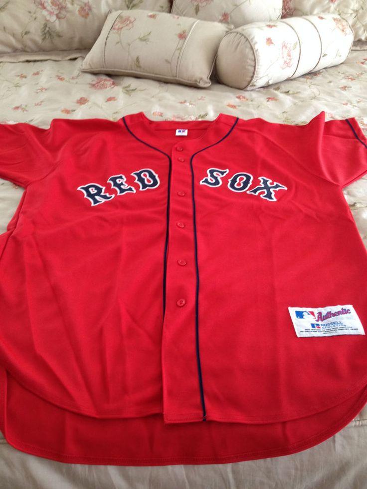 Authentic Manny Ramirez/David Price Alternate Red Sox Jersey Russell size 48 #BostonRedSox