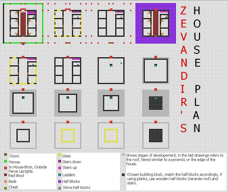 Minecraft House Blueprints Pc Images Pictures Becuo